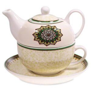 Tea for One Mandala groen