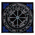 Pendelmat astrologie -- 30x30 cm