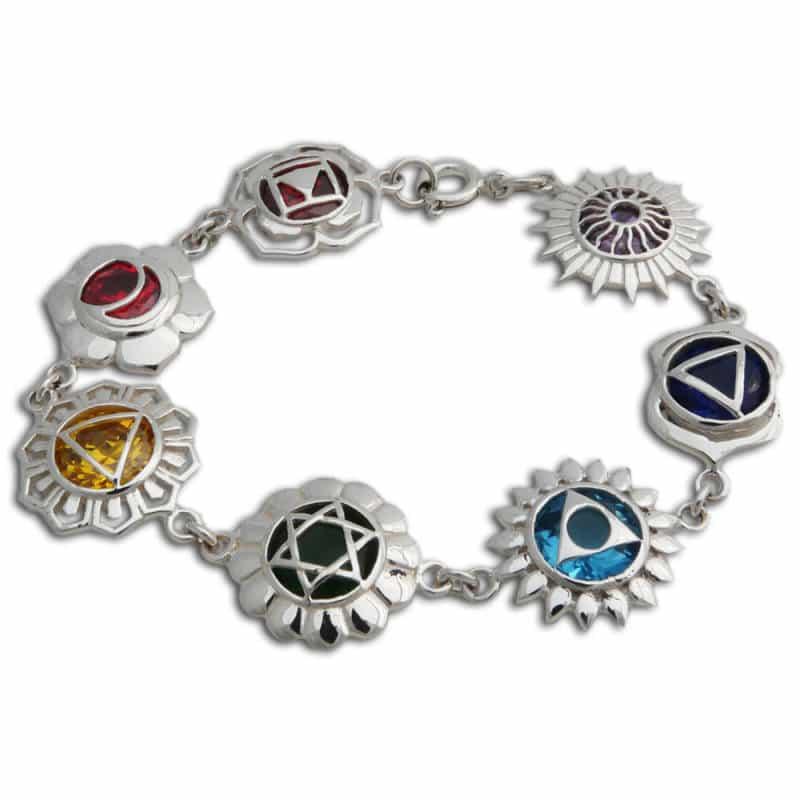 good vibes zeven chakra armband