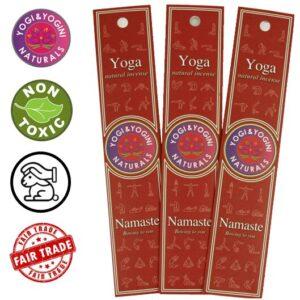 Wierook Yoga Namaste (prijs per pakje 10 stuks)