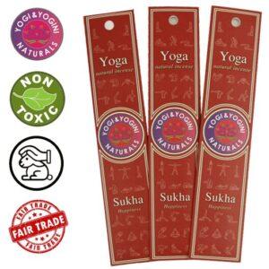 Wierook Yoga Sukha (prijs per pakje 10 stuks)