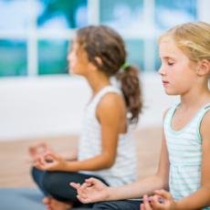 Reis en kinder Meditatiekussens