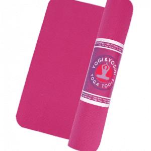 Yogi & Yogini PVC yogamat roze